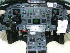 citation vii instrument panel