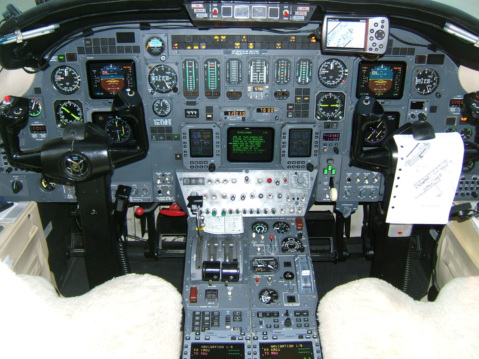 Cessna Citation Vii Cockpit From The Cockpit