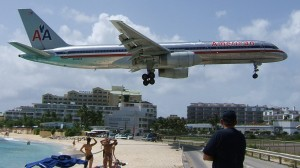 American airlines Boeing 757 St Martin SXM tncm