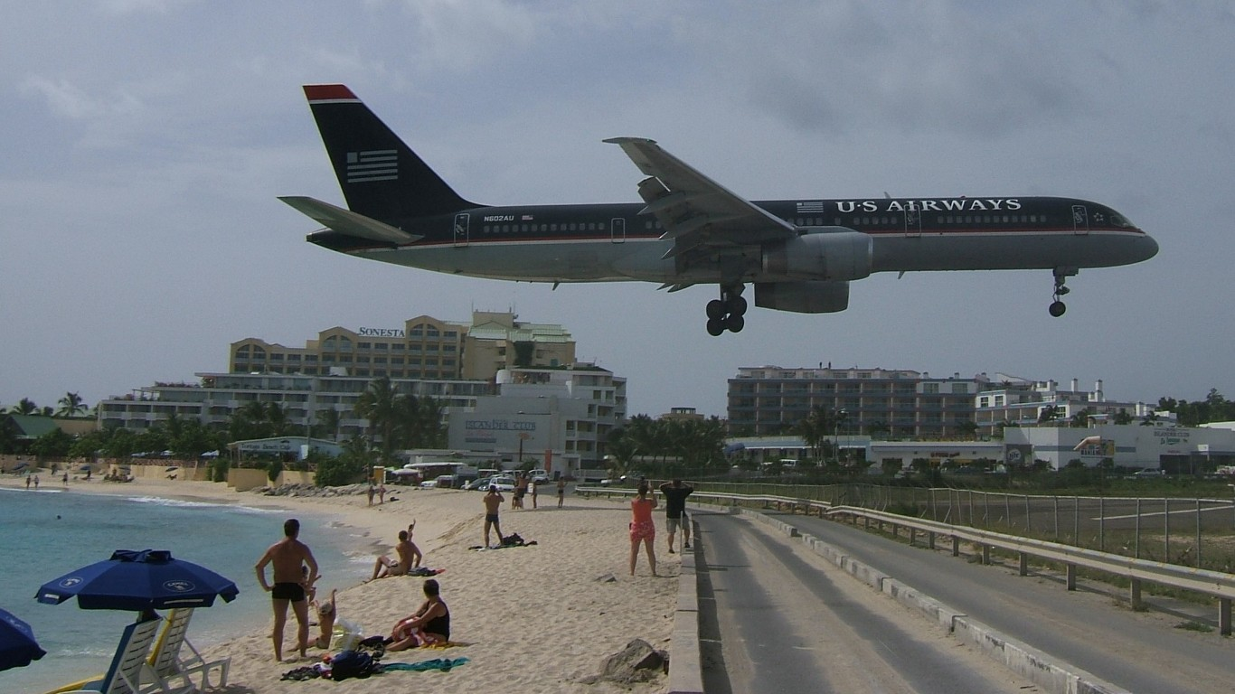 st martin airport - HD 1366×768