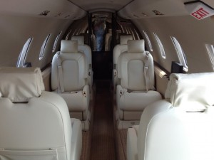 Cessna Citation 560XL Cabin