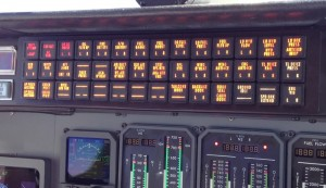 Cessna Citation V Encore instrument Panel Warning Lights