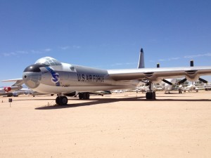 Convair B-36 Peacemaker intercontinental nuclear bomber