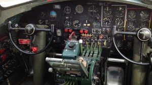 Sentimental Journey B-17G Flying Fortress Cockpit Instrument Panel