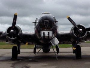 Sentimental Journey B-17G Flying Fortress Front