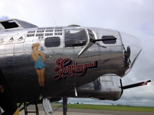 Sentimental Journey B-17G Flying Fortress Nose Art