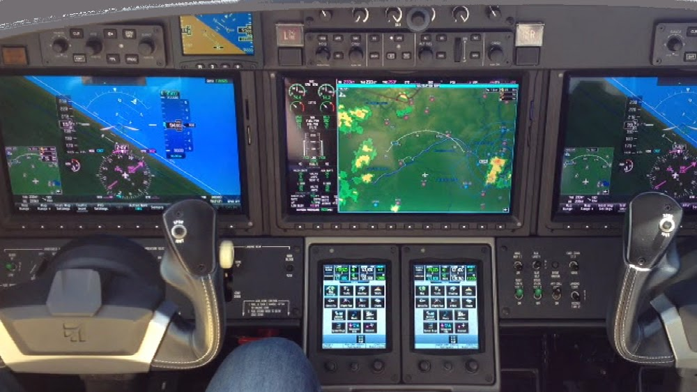 Airplane From The Cockpit
